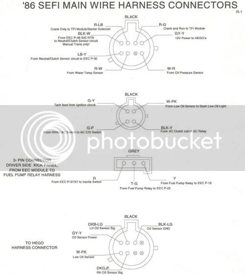 small resolution of 1990 mustang wiring diagram 8 pin wiring library 1990 mustang wiring diagram 8 pin