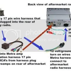 Pt Cruiser Stereo Wiring Diagram 2002 Sony Explode Easy Way To Install An Aftermarket Radio Into Your Factory Amplified System - Page 2