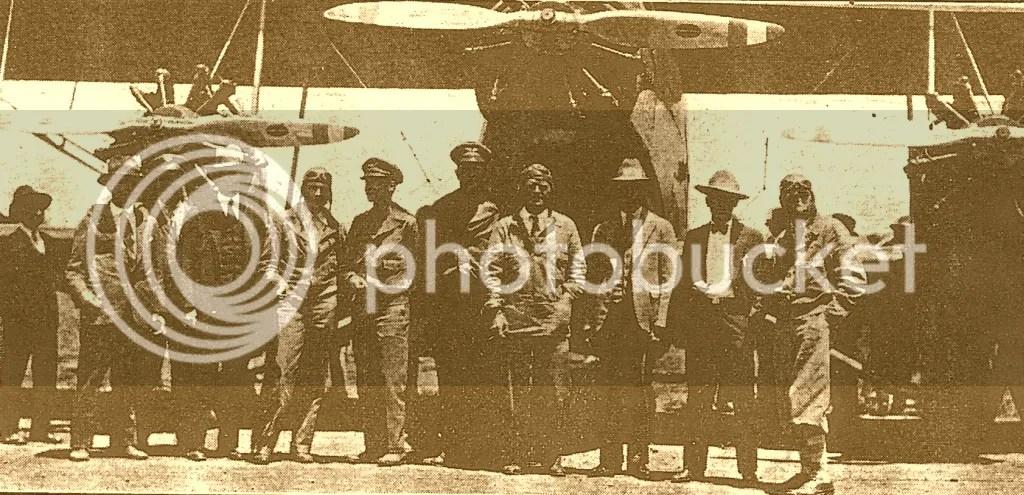 Pilotos y personal de la CNA