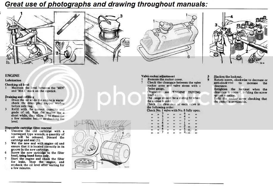 BMC leyland 1.8 diesel engine workshop manual & operator