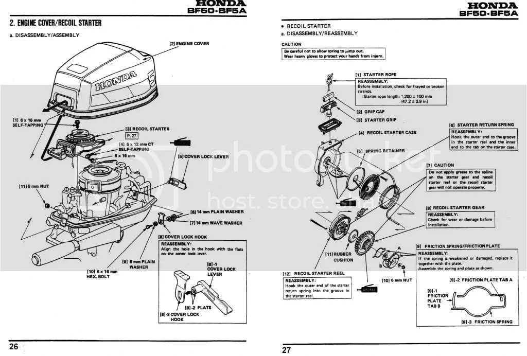 Honda Bf50d Outboard Shop Manual