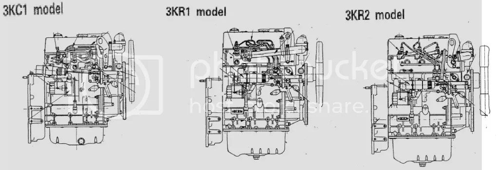 Isuzu 3kc1 3kr1 3kr2 manual industrial engine service