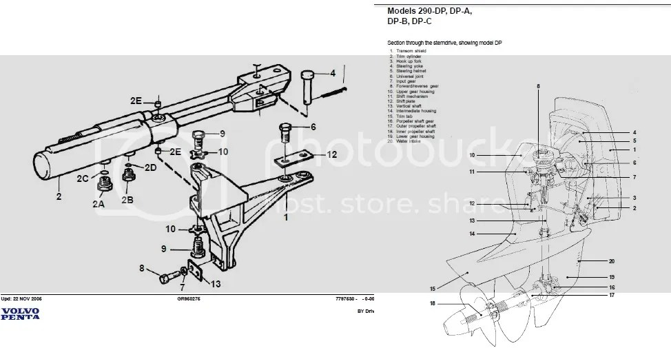 Volvo Penta Workshop Manual Aquamatic 280 285 290 DP