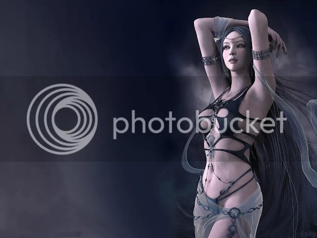 Fantasi Girl Wallpaper