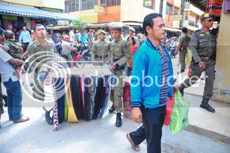 Penertiban PKL di Lemabang dan Sekitar