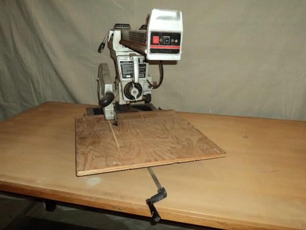 Toolkraft 10- Radial Arm 4400 Rpm 2 1 4 Hp 4025 Vintage