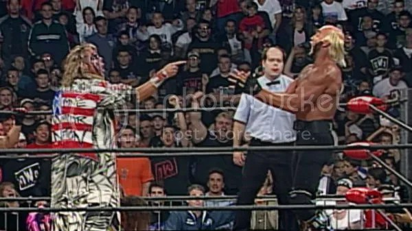 Image result for Hollywood Hogan vs. The Warrior
