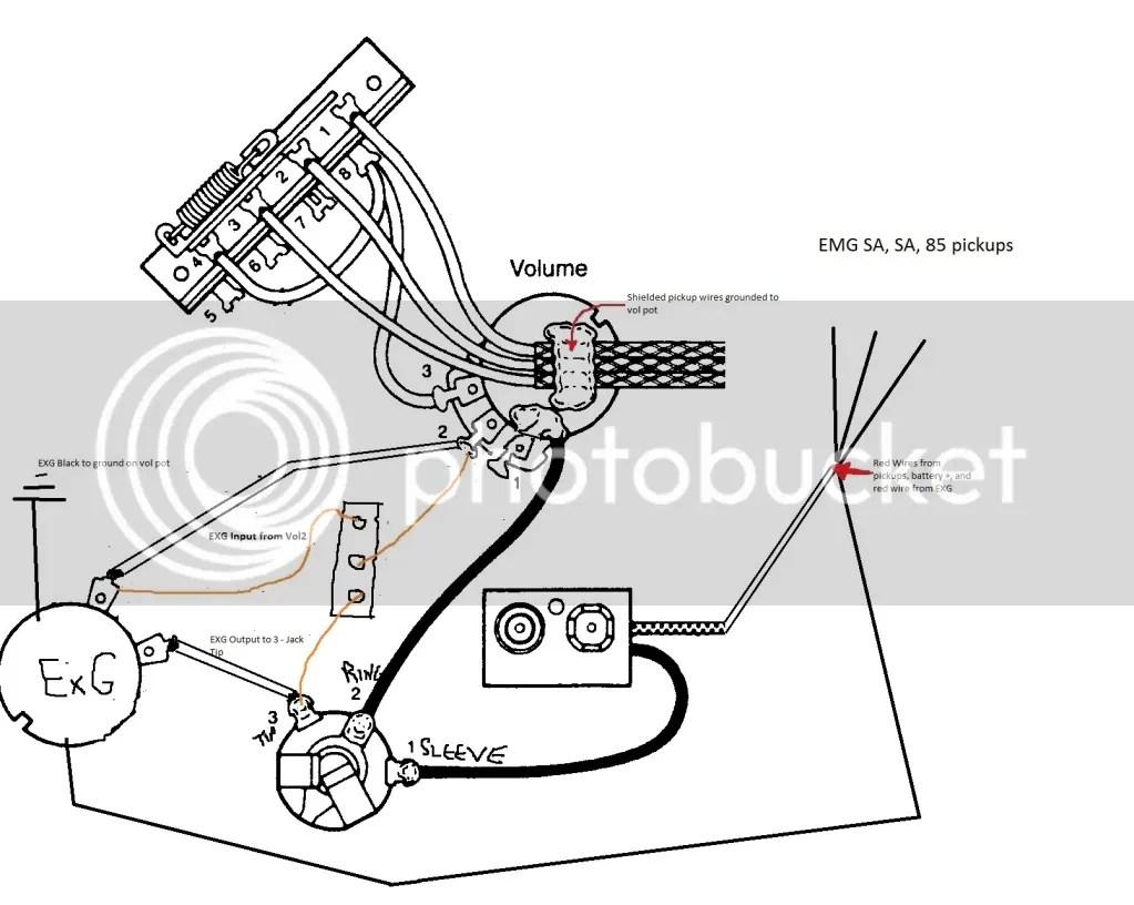 Wiring Diagram Further Electric Guitar Wiring Diagrams On Emg Pickups
