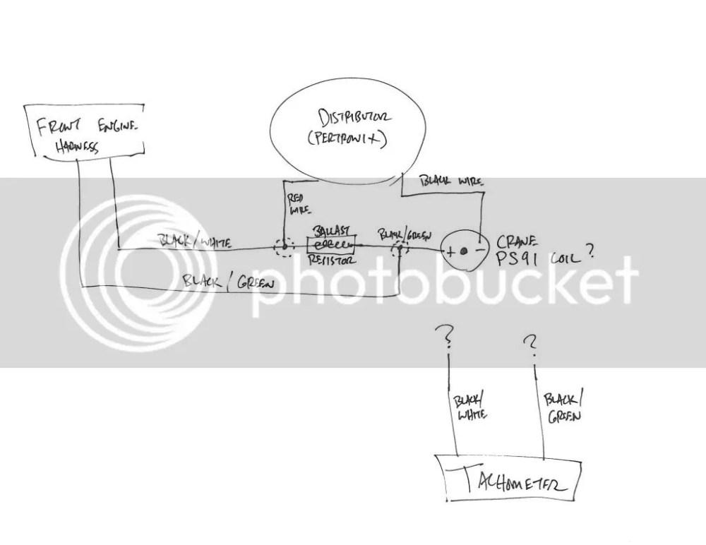 medium resolution of pertronix tach wiring wiring diagrams scematic 240z distributor wiring pertronix headache electrical ratsun forums ignition ballast