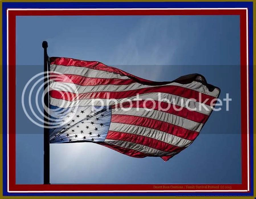 America In Distress photo AmericanFlaginDistresswframe_zps682a6b91.jpg