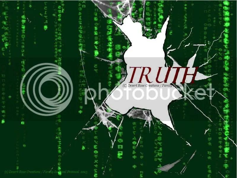 Truth Breaking Through The Matrix : Composite created with Jamie Zawinski (The Matrix screenshot) as background CC with attribution photo BreakingthroughthematrixFSB2_zps01825e4c.jpg