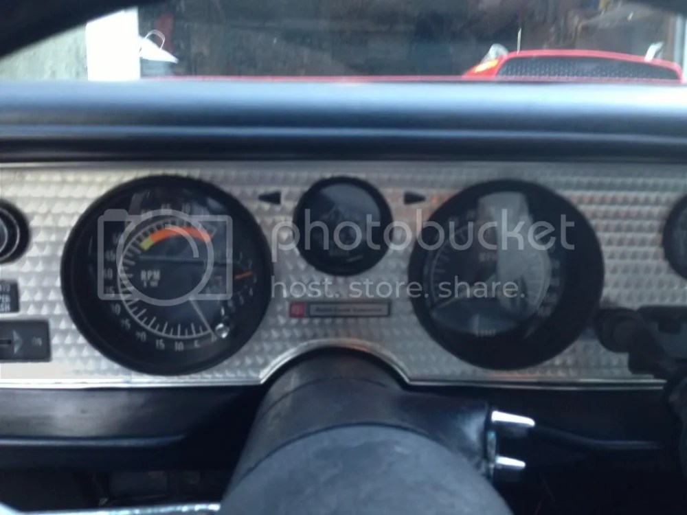medium resolution of finished installation 8k tach with 160mph speedo and without seat belt light correct for a 71 clock does not work but again most don t