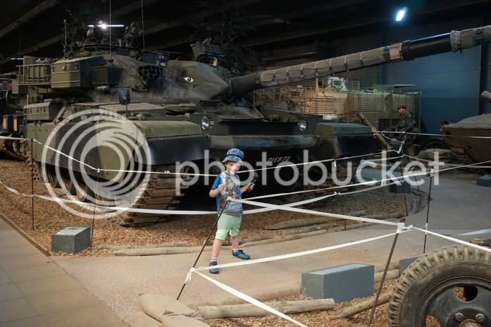 tanks at IWM Duxford