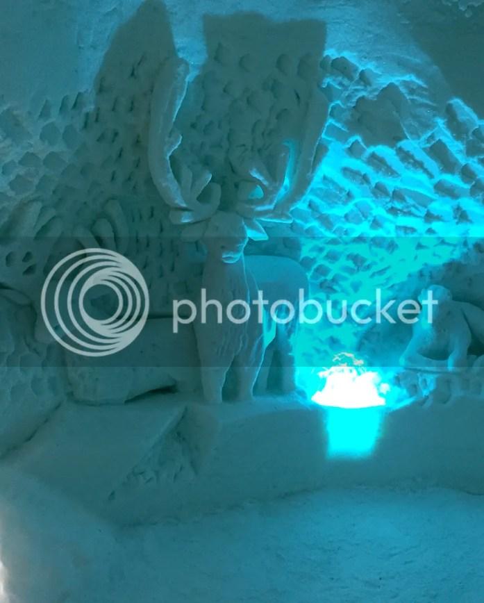 Ice palace lapland