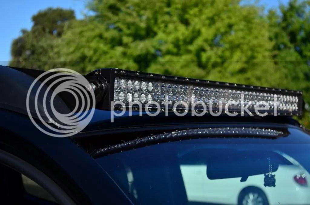 Roof Rack Light Bar