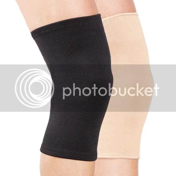 Elastic Knee Support Sleeve Pain Sports Injury Running