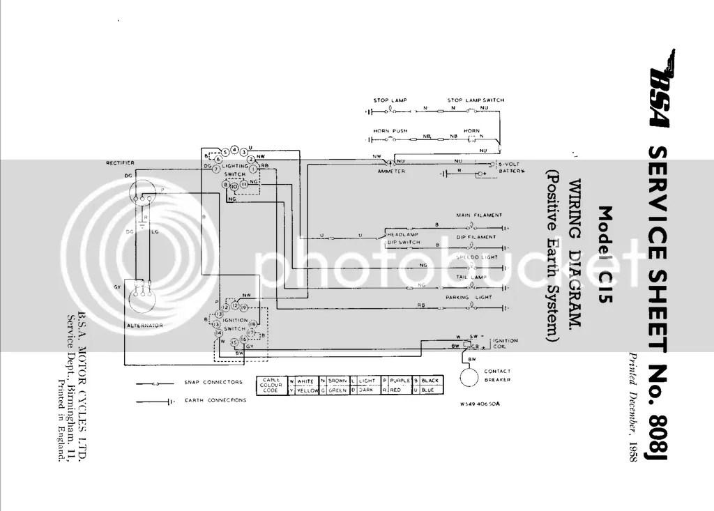BSA B40 Electric help...a short circuit somewhere