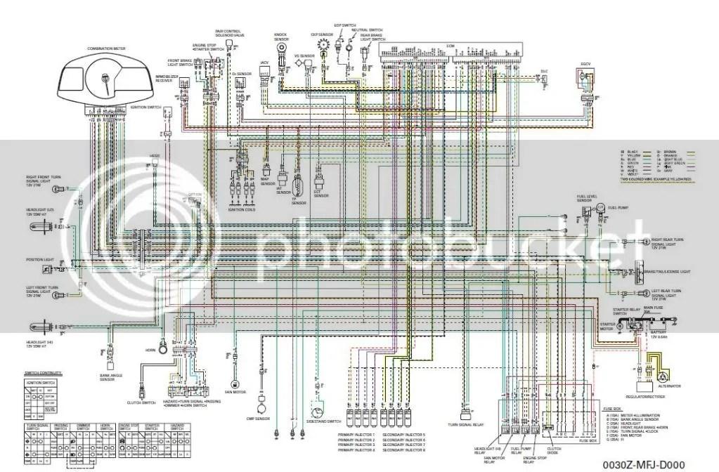 Rr Wiring Diagram 07 Honda Cbr600rr Clocks Speedometer Sub Harness 600rr Net