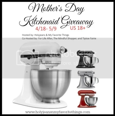 Mother Day Kitchenaid Giveaway 2015