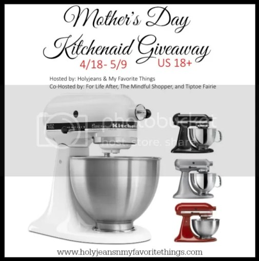 Mother's Day Kitchenaid Giveaway 2015