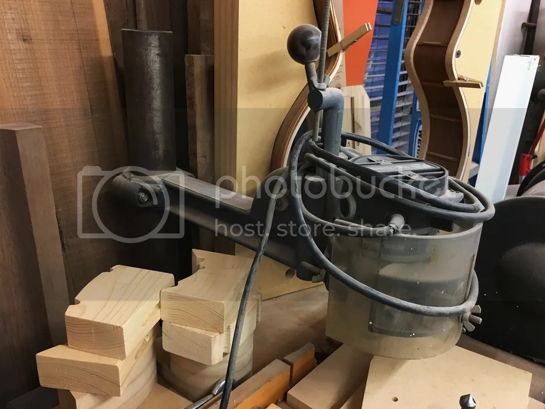 Shopsmith Pin Router