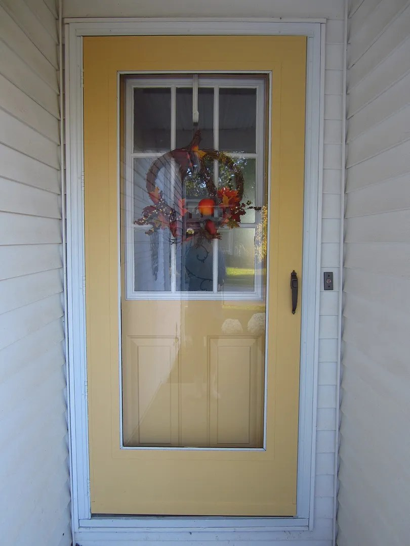 Yellow Front Door/HomeStagingBloomingtonIL