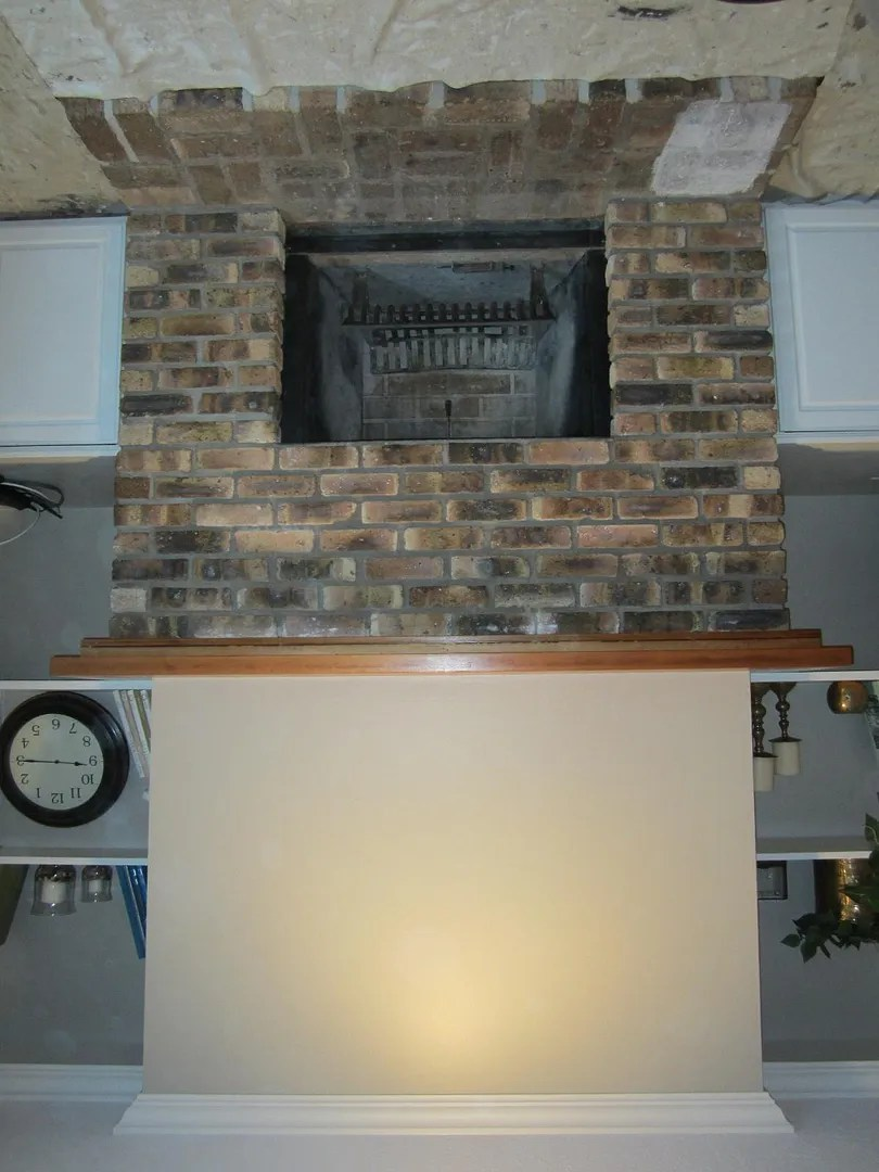 how to whitewash fireplace bricks home staging in bloomington