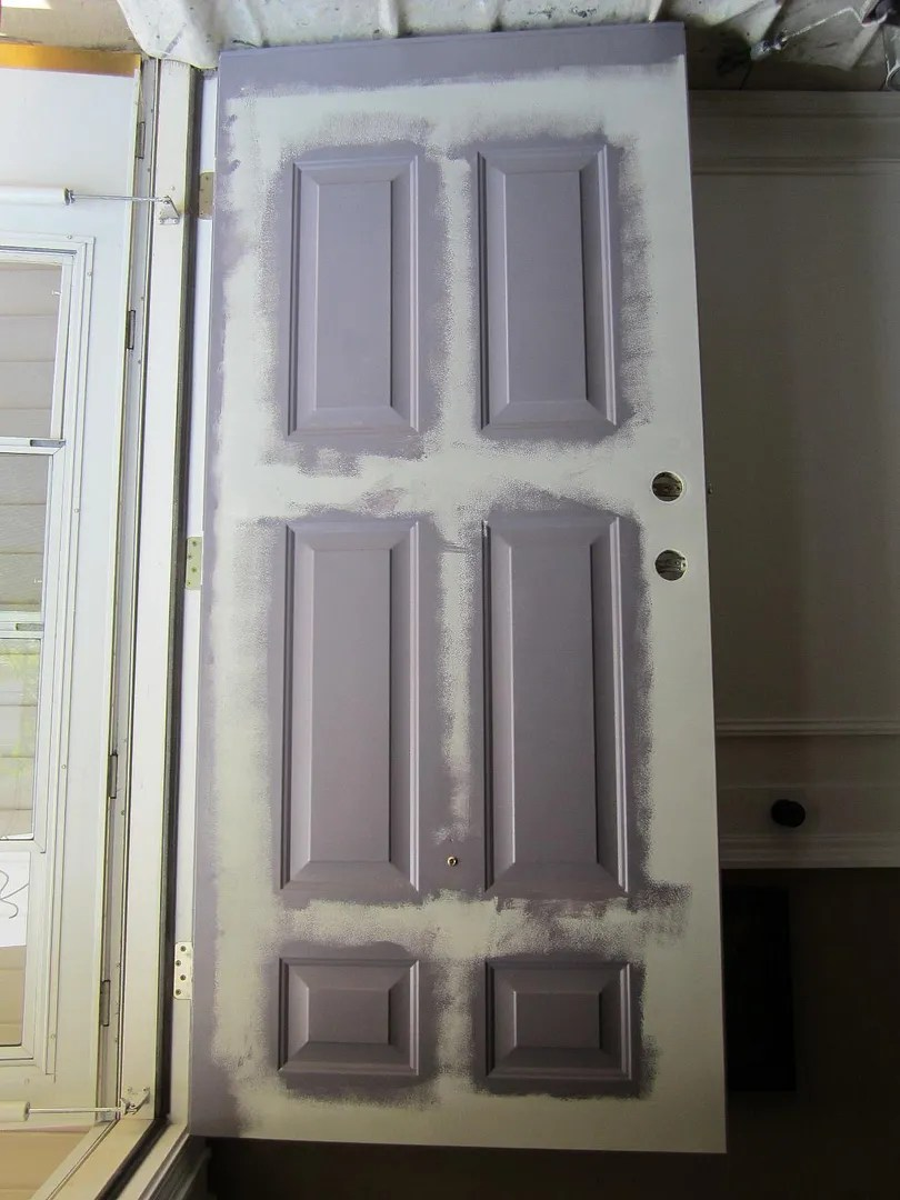 Repairing Dings And Scratches In A Metal Door Home Staging In Bloomington I