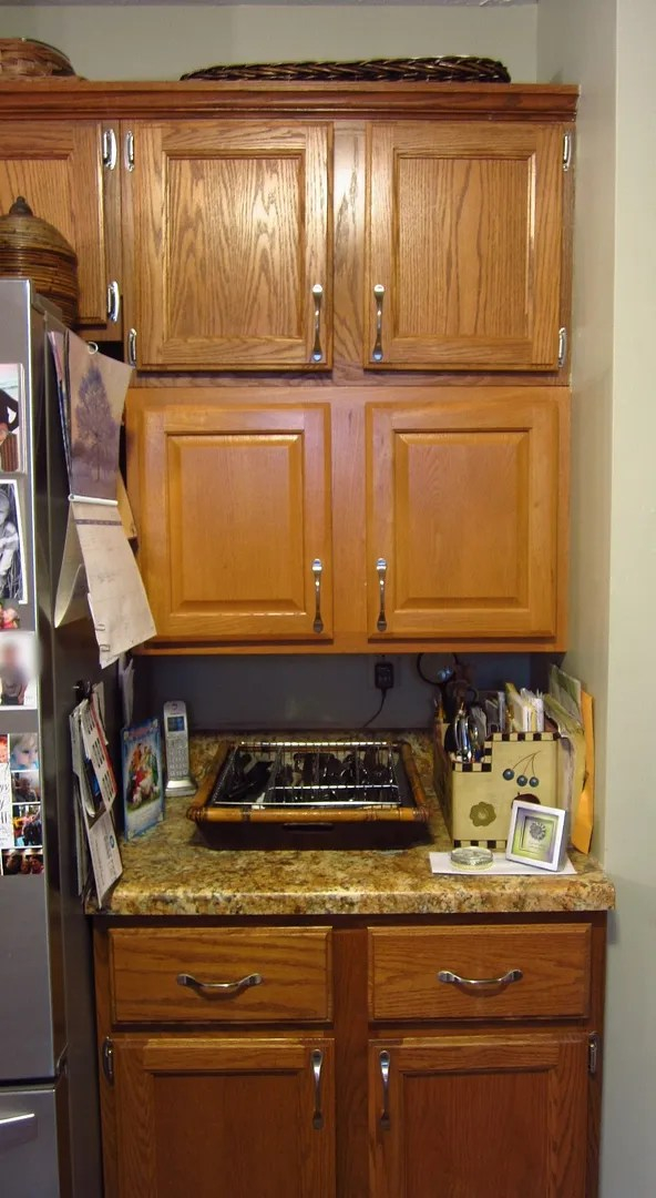 Kitchen Open Shelving/HomeStagingBloomingtonIL