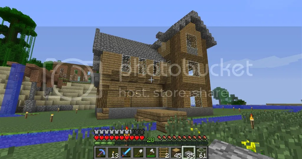 Any Simple Yet Awesome House Designs? Survival Mode Minecraft