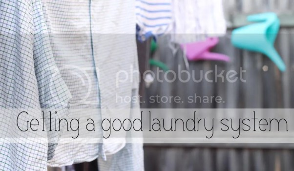 Getting a good laundry system | How to stay on top of laundry and take better care of your clothes
