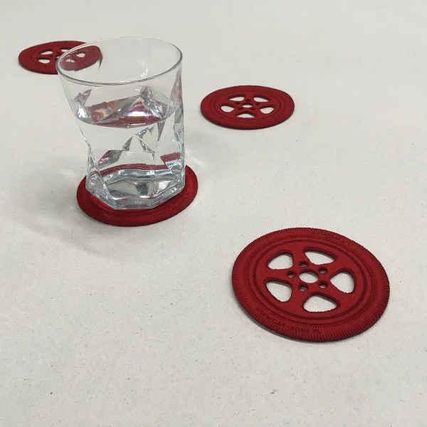 Ruf Ctr Wheel Theme Drink Coasters 4 Pcs Porsche 911