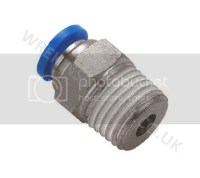 NPT Pneumatic Push In Fittings for Air/Water Hose & Tube ...