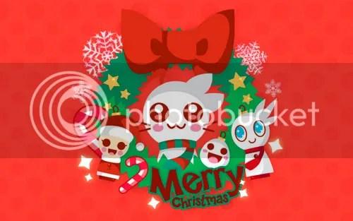 Resultado de imagen para feliz navidad kawaii