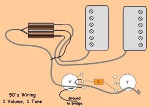 Please help on: 50s Wiring 1 Master Volume 1 Master Tone
