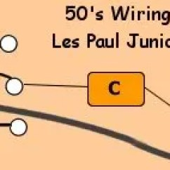 Gibson Les Paul Junior Wiring Diagram Xtrons Radio Schematic For 50 S Re