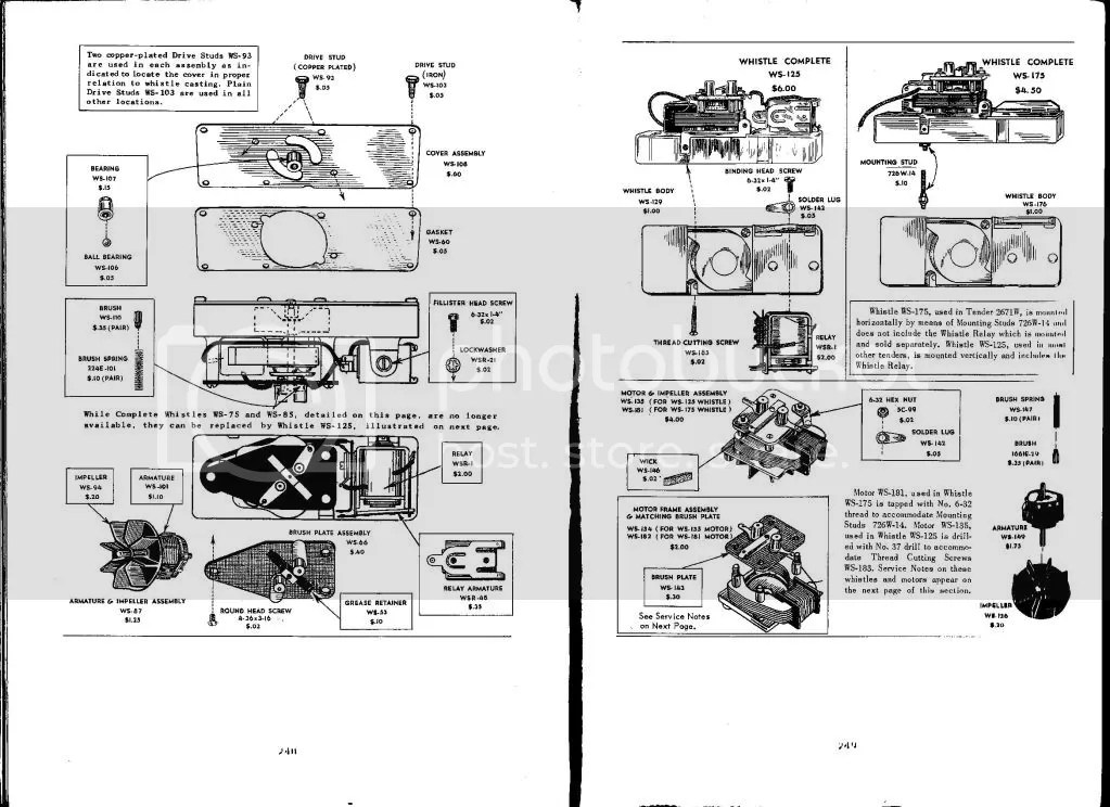 Lionel Whistle Tender Wiring Diagram