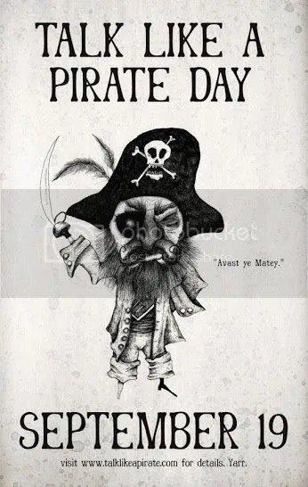 #TalkLikeAPirateDay