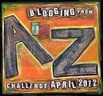 Blogging from #AtoZChallenge April 2012