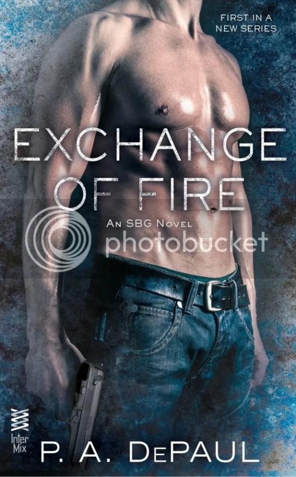 excerpt Author P.A. DePaul's book Exchange of Fire