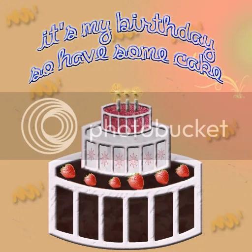 Birthday Cake by @JLenniDorner