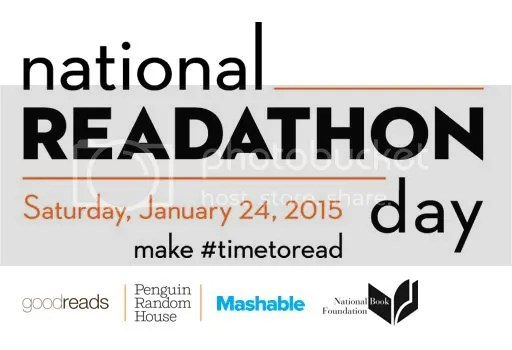 Goodreads Make #timetoread on National Readathon Day! Noon to 4 pm January 24th 2015