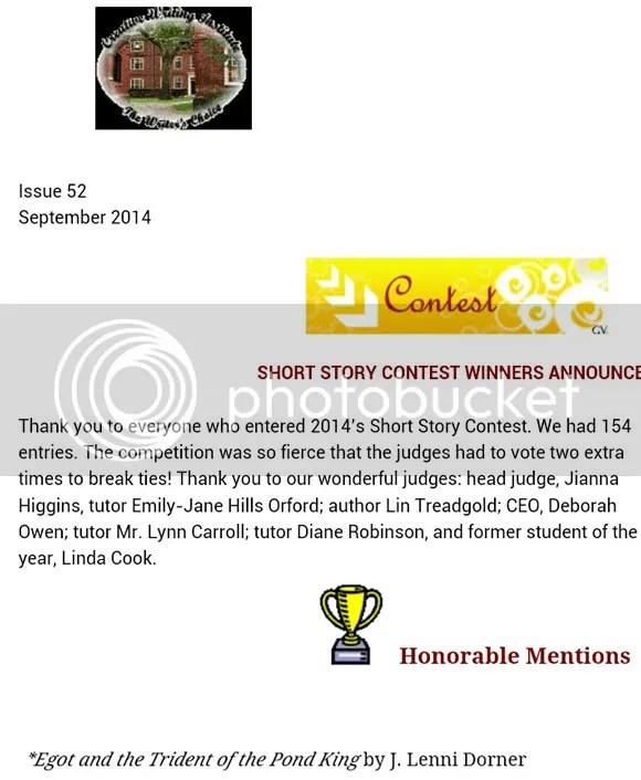 contest win