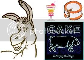 image of donkey from shrek movie