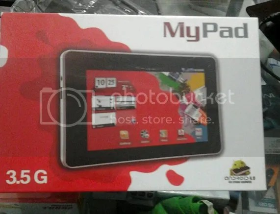 tablet pc android murah my pad 3.5G Series jogja
