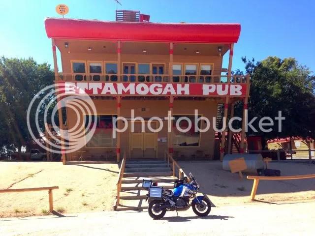 Super Tenere at Ettamogah Pub, Table Top NSW