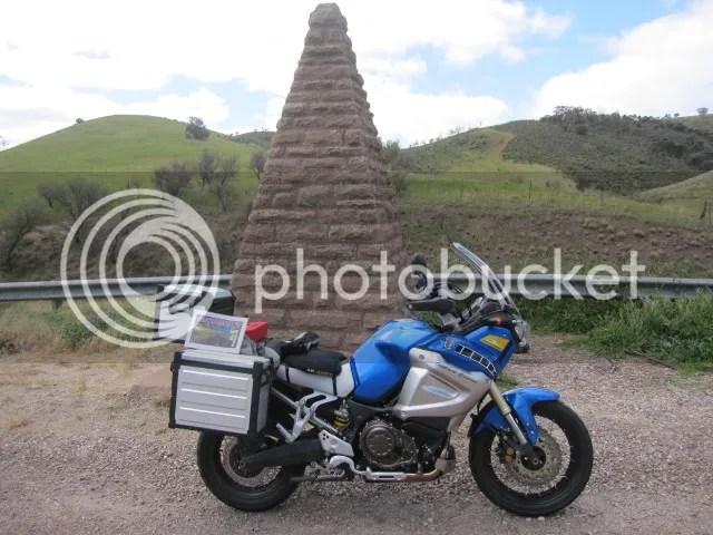 My Super Tenere at Horrocks Pass