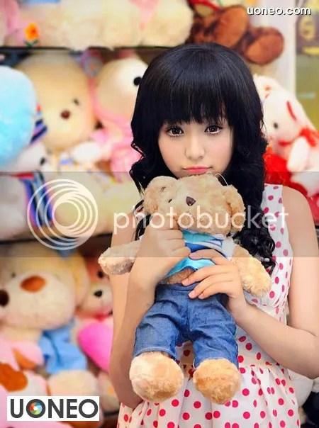 Le Hoang Bao Tran Uoneo 53 Le Hoang Bao Tran   Stunning 13 Year Old Model from Vietnam