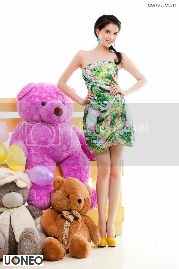 Ngoc Trinh Vietnam Model Uoneo 23 Ngoc Trinh   Vietnam Model: Beautiful costumes and colorful