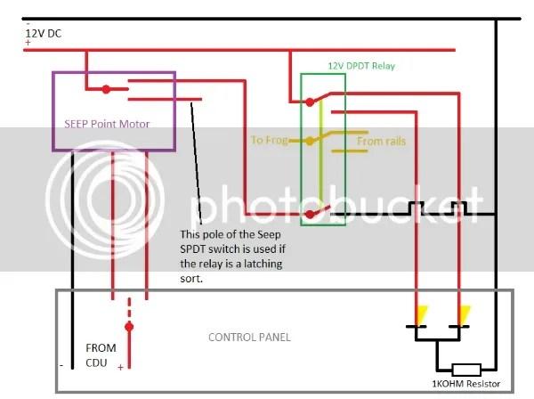 Seep Point Motor Wiring